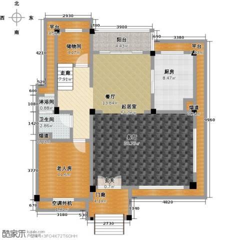 九江碧桂园1室0厅1卫1厨148.00㎡户型图