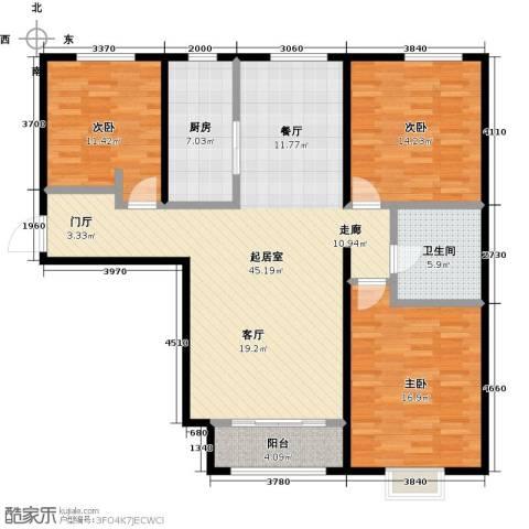启新18893室0厅1卫1厨146.00㎡户型图