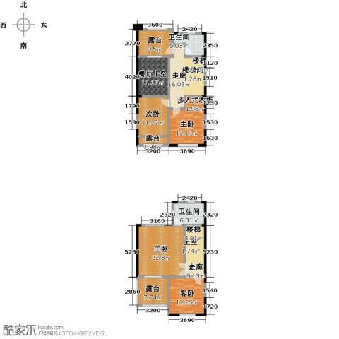 鸿威・翡翠城4室0厅2卫0厨183.00㎡户型图