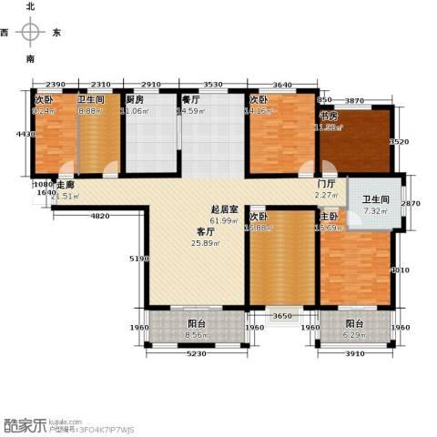 水运雅居5室0厅2卫1厨242.00㎡户型图
