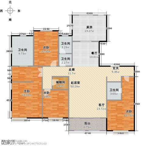 融侨观邸4室0厅4卫1厨209.00㎡户型图