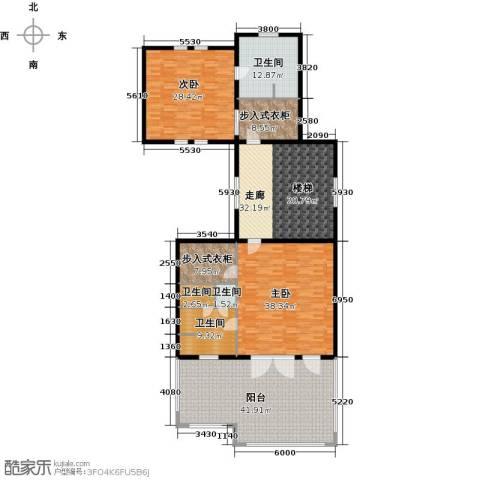 德嘉与海2室0厅4卫0厨201.00㎡户型图