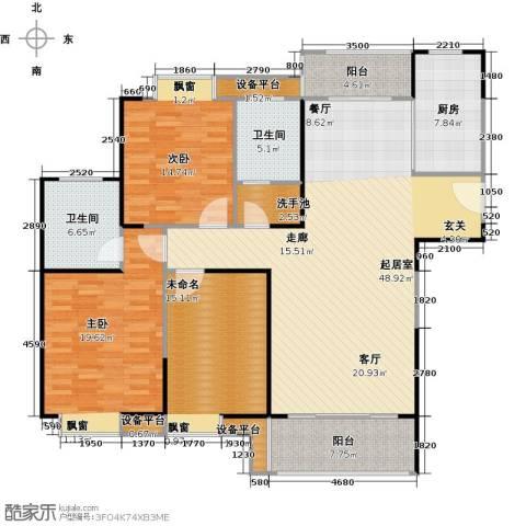 正元怡居2室0厅2卫1厨141.00㎡户型图