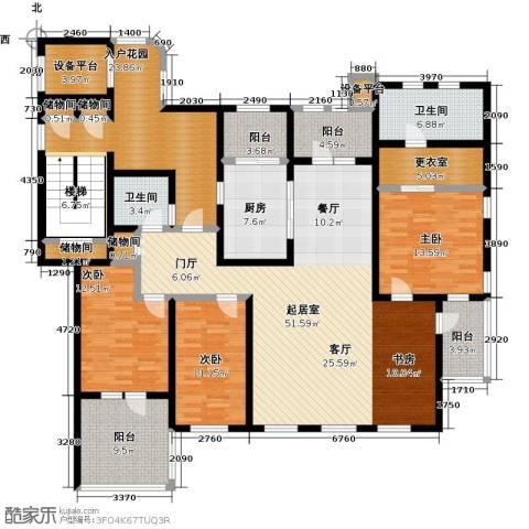 吉宝沁风御庭3室0厅2卫1厨240.00㎡户型图