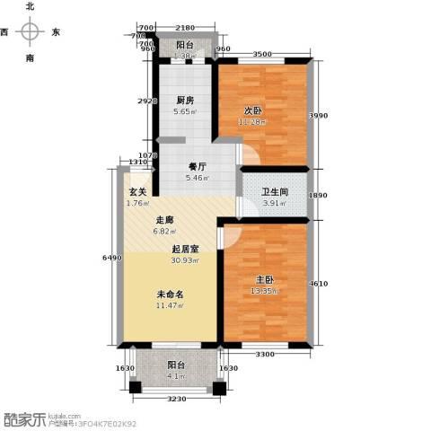 五洲太阳城2室0厅1卫0厨94.00㎡户型图