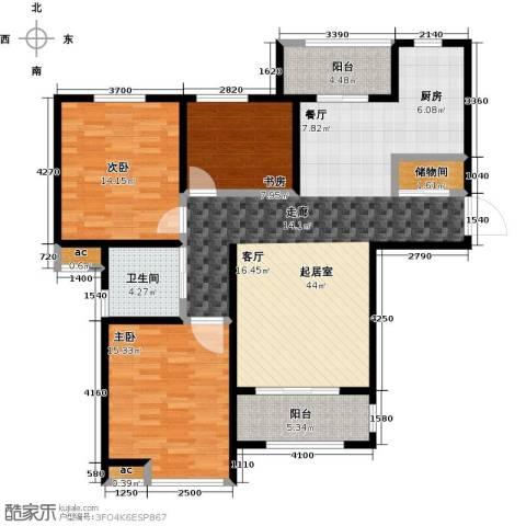 花好月圆3室0厅1卫0厨112.00㎡户型图