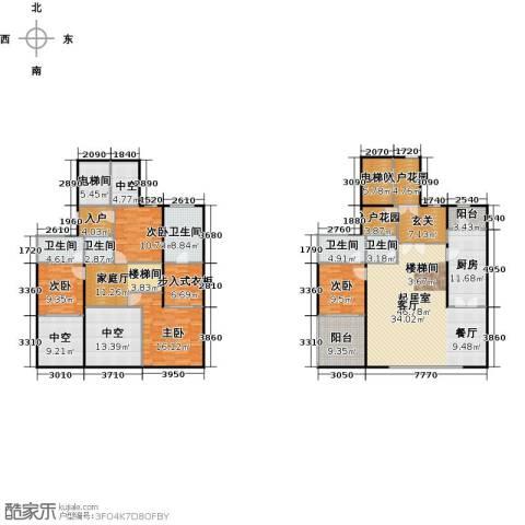 万科大明宫4室0厅5卫1厨294.00㎡户型图
