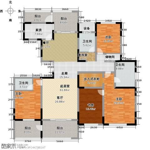 苏建名都城4室0厅3卫1厨282.00㎡户型图