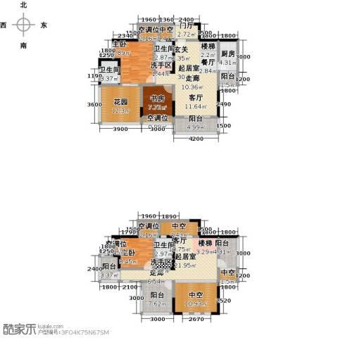 黄河畔岛3室0厅3卫1厨233.00㎡户型图
