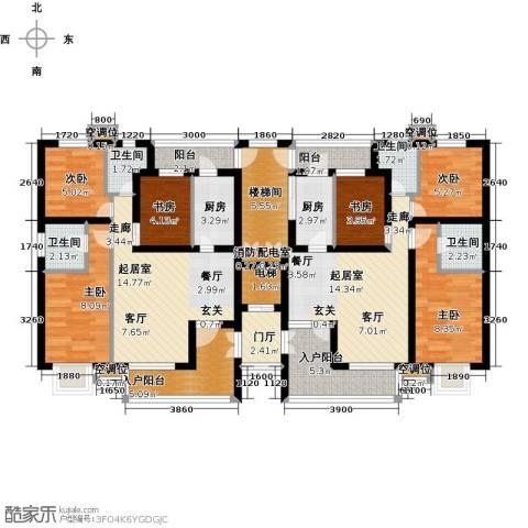 永康水印城6室0厅4卫2厨159.00㎡户型图