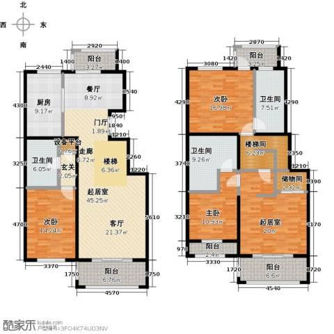 玖郡3室0厅3卫1厨246.00㎡户型图