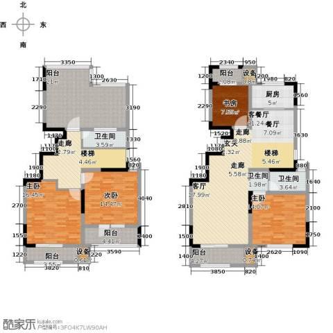 荣御华府4室1厅2卫1厨225.00㎡户型图