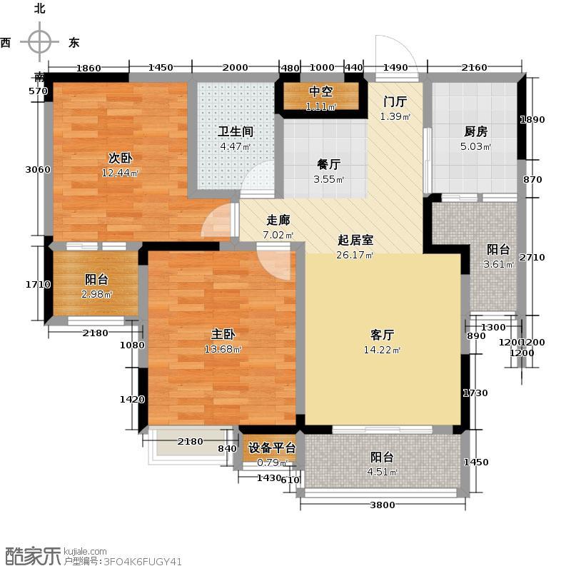 香港城香港城户型10室