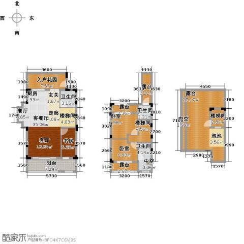 陶然湾1室1厅3卫0厨146.00㎡户型图