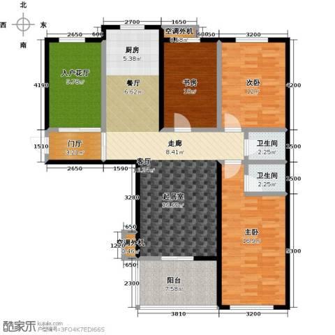 海韵馨园3室0厅2卫0厨144.00㎡户型图