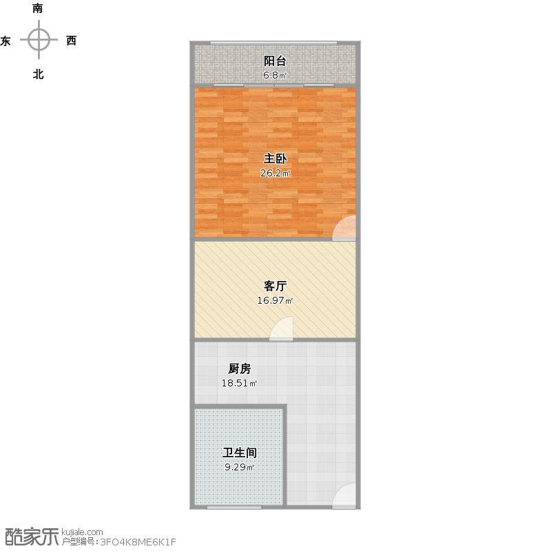 控江四村户型图