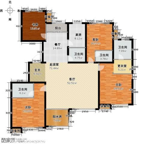 塞纳世家4室0厅4卫1厨223.00㎡户型图