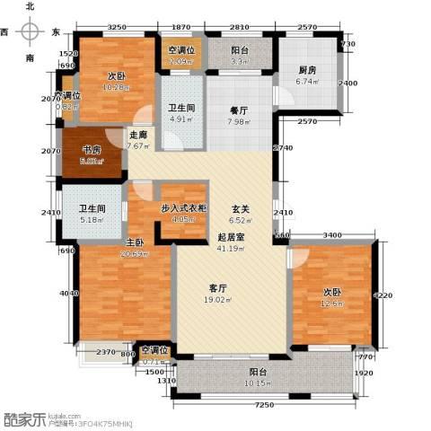 融绿�园4室0厅2卫1厨179.00㎡户型图