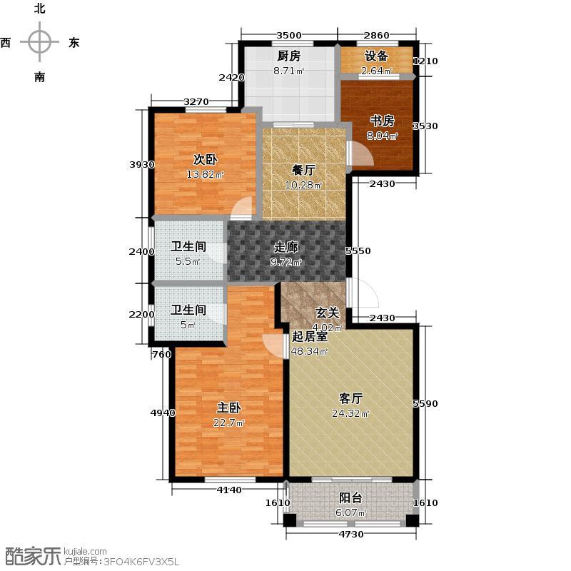 青岛印象山137.00㎡青岛印象山137.00㎡3室2厅2卫户型3室2厅2卫