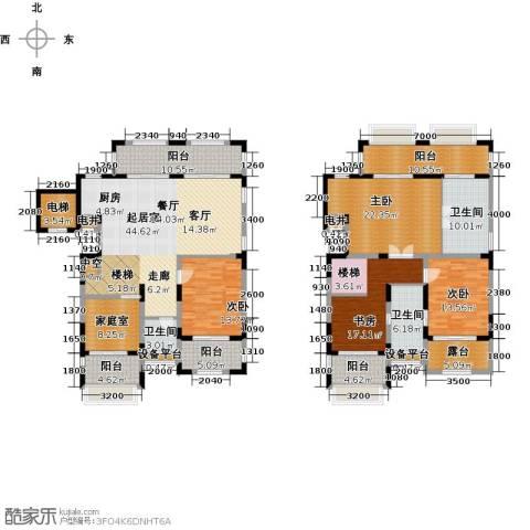 金泰・南燕湾4室0厅3卫0厨212.00㎡户型图