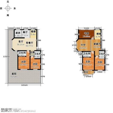 天境5室1厅4卫1厨343.00㎡户型图