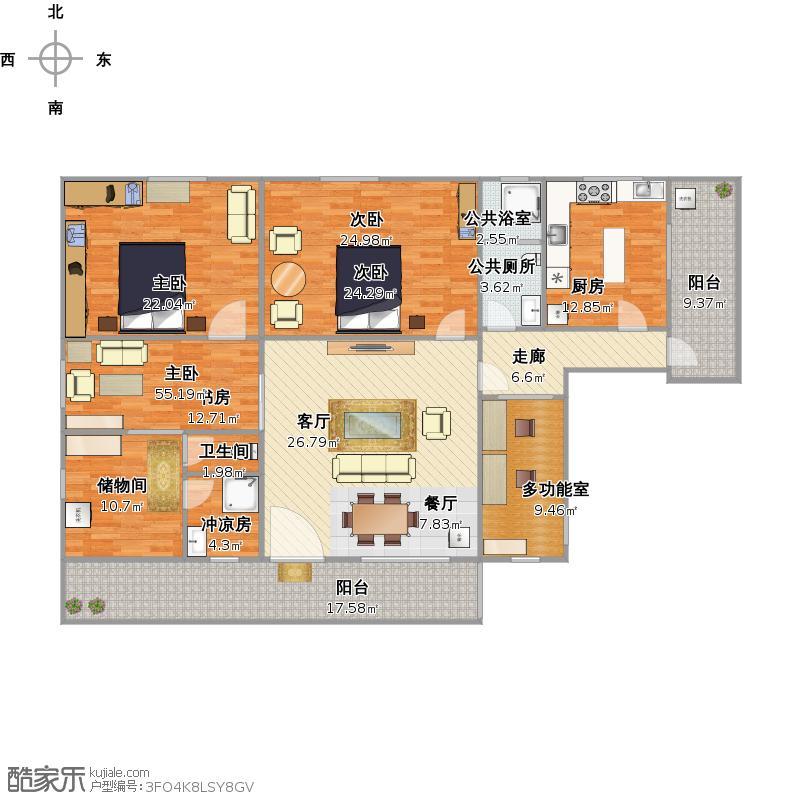 威少Dazv的家初步设计图