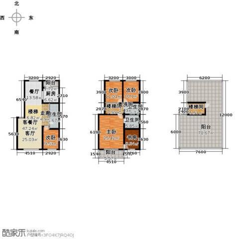 天境5室1厅3卫1厨317.00㎡户型图