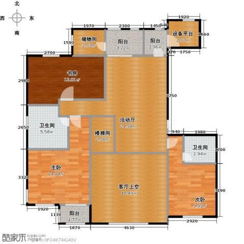 华中国宅华园3室0厅2卫0厨430.00㎡户型图
