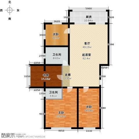 杏林湾4室0厅2卫0厨195.00㎡户型图