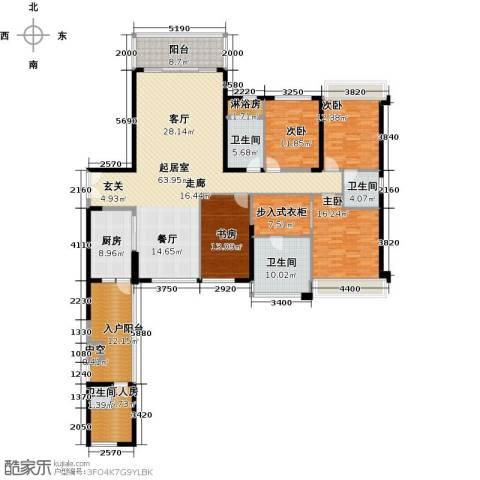 中骏天誉4室0厅4卫1厨259.00㎡户型图