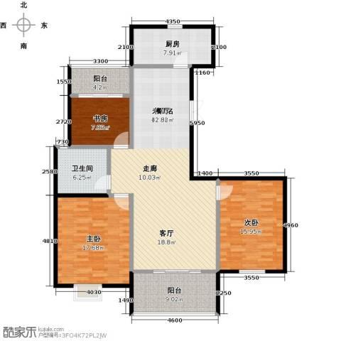 提香湾3室0厅1卫1厨154.00㎡户型图