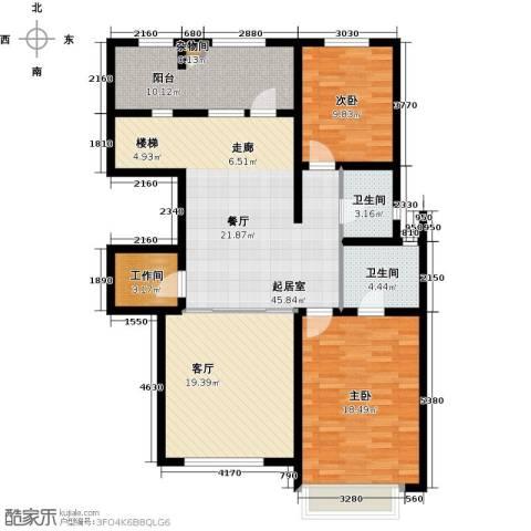 宜和澜岸2室0厅2卫0厨136.00㎡户型图
