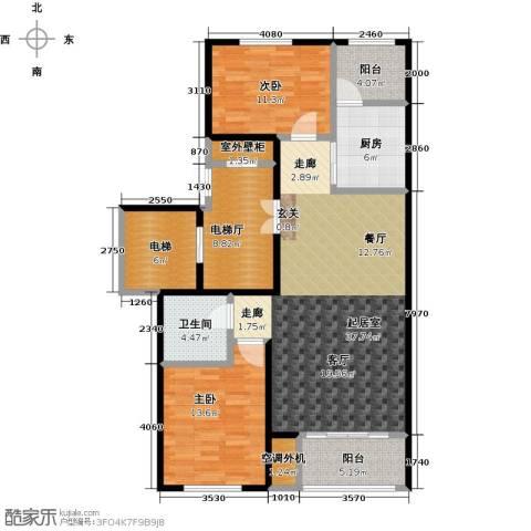 领秀城2室0厅1卫1厨141.00㎡户型图
