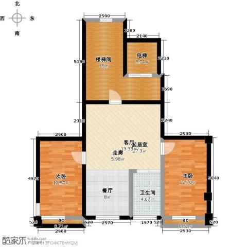 馨悦家园2室0厅1卫0厨113.00㎡户型图