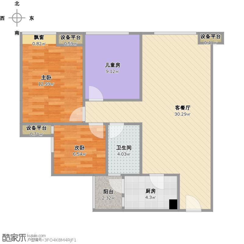 佳兆业广场A1-1户型+改后户型图.jpg