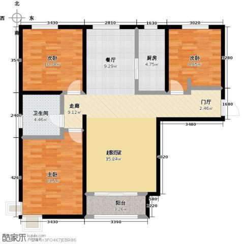 启新18893室0厅1卫1厨115.00㎡户型图