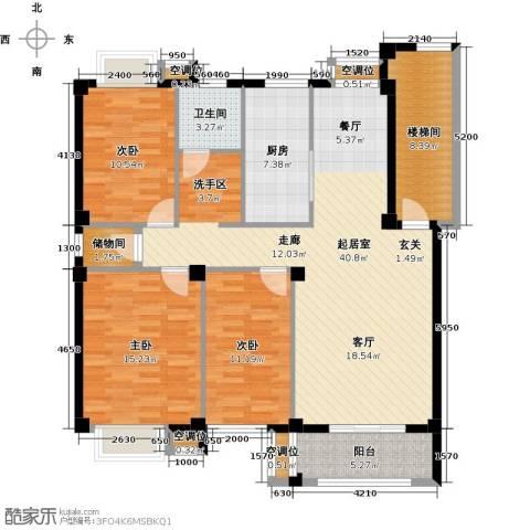瑞鑫花园3室0厅1卫1厨120.00㎡户型图