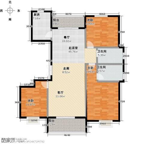 提香湾3室0厅2卫1厨169.00㎡户型图