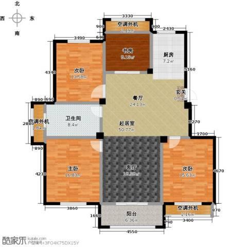 御景豪庭4室0厅1卫0厨140.00㎡户型图