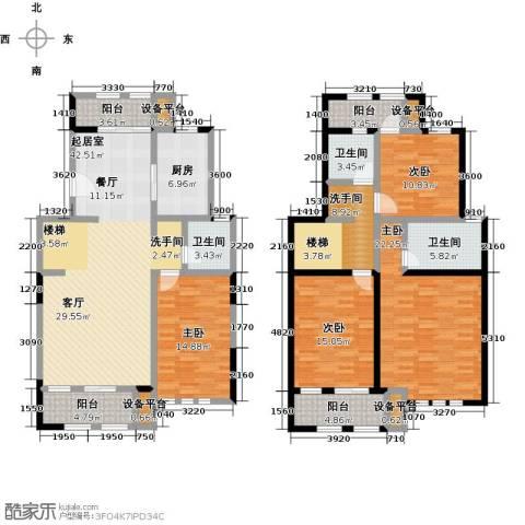 叶与城4室0厅3卫1厨224.00㎡户型图