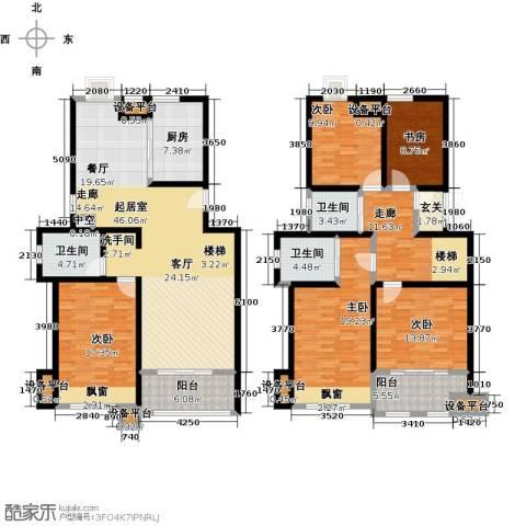 叶与城5室0厅3卫1厨239.00㎡户型图