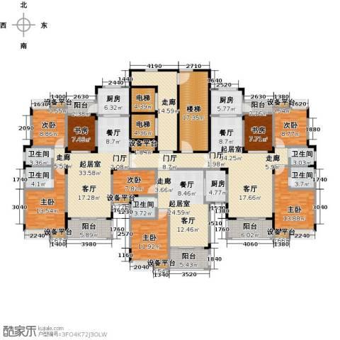 大润发广场8室0厅5卫3厨408.00㎡户型图