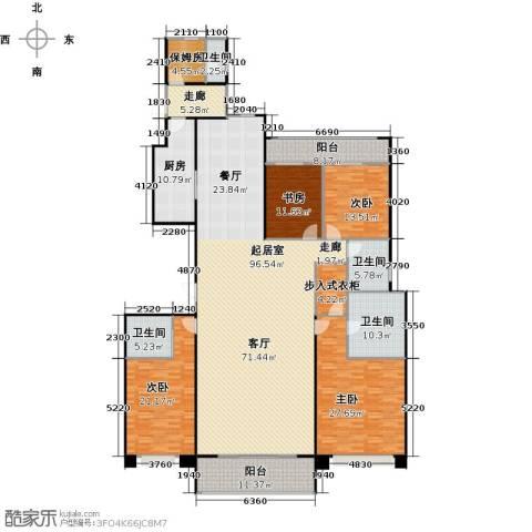 九龙仓繁华里4室0厅4卫1厨253.00㎡户型图