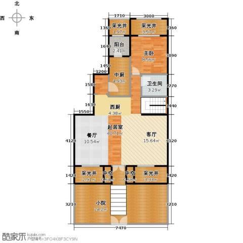 孔雀城大湖1室0厅1卫0厨229.00㎡户型图