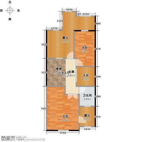 品湖居2室0厅1卫0厨69.00㎡户型图