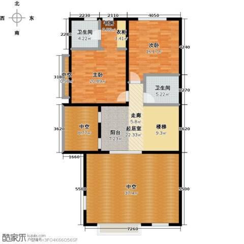 中信�台2室0厅2卫0厨161.00㎡户型图