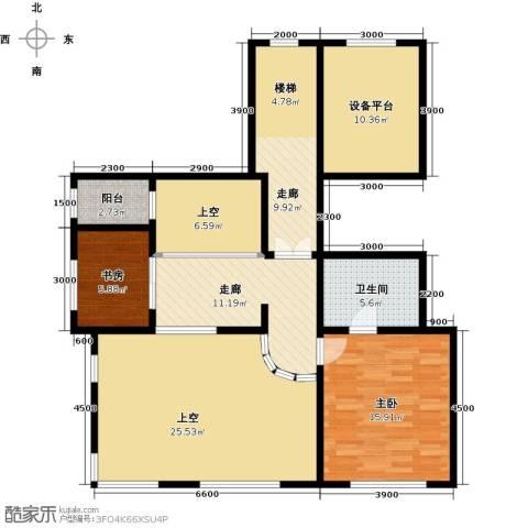 融创君澜2室0厅1卫0厨132.00㎡户型图