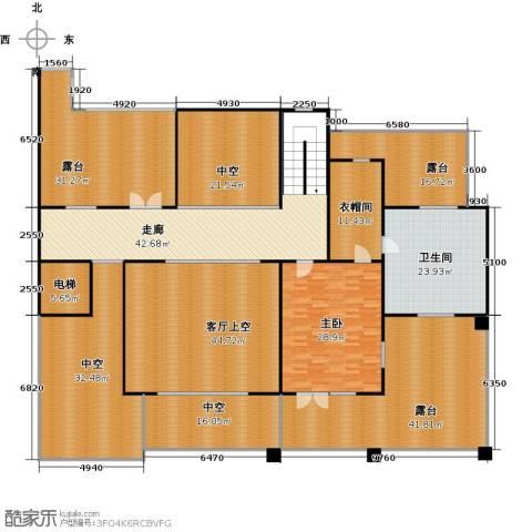 孔雀城大湖1室0厅1卫0厨330.00㎡户型图