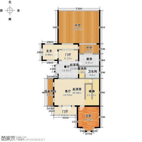 中信�台1室0厅1卫1厨204.00㎡户型图