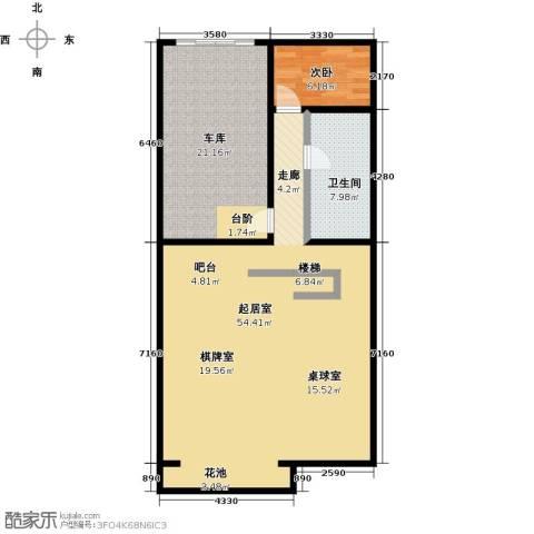 中信�台1室0厅1卫0厨122.00㎡户型图